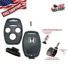 For 2006 - 2012 Honda Accord Remote Key Fob Shell Case DIY FIX