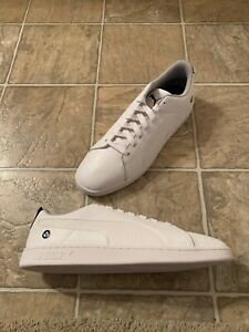 PUMA BMW MMS Smash Sneaker Men's Size 14 White 306450-04
