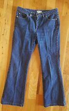 Michael Kors Boot cut stretch Womens Blue Denim Jeans Size 8 x 34 medium wash