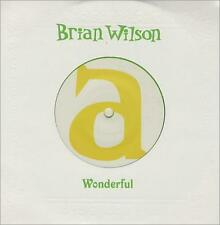 "BRIAN WILSON Wonderful -2004 UK limited edition LIME GREEN VINYL 7"" vinyl single"