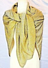 """Gold Lame Shawl, Great Suggestion for Age-old Problem of """"Nothing to Wear"""""""