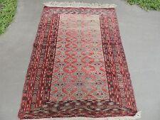 3x5ft. Turkoman Tekke Handmade Wool Rug