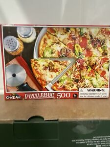 PUZZLEBUG  *  SUPREME PIZZA *   500 PIECE  JIGSAW PUZZLE ( NEW )