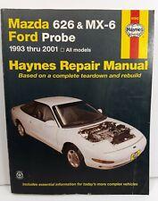 Haynes Repair Manual Mazda 626 and MX-6 Ford Probe 1993 thru 2001