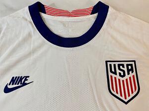 Nike USA VaporKnit Match Home Jersey White USMNT CD0592-100      Size Medium