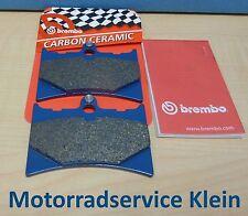 ORIGINAL BREMBO Plaquette de freins KIT AVANT POUR APRILIA RS 125 1992 - 2005