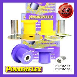 PFR68-107/PFR68-108 Powerflex For Smart ForTwo 450 (1998-2007) Rr LinkArm Bushes