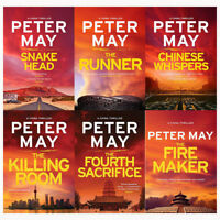Peter May China Thrillers Collection 6 Books Set Chinese Whispers, The Firemaker