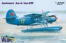 Antonov An-4 An-2W Floatplane in Soviet Polish Navy (1/48 model kit Valom 48004)