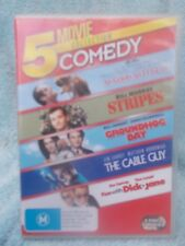 STRIPES/GROUNDHOG DAY/THE CABLE GUY/DICK & JANE M 5 MOVIE(3 DISC BOXSET) R4
