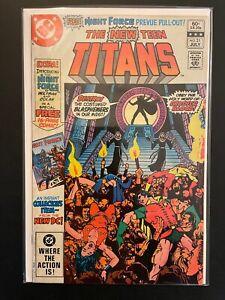New Teen Titans vol.1 #21 1982 Mid Grade 5.0 DC Comic Book D20-87