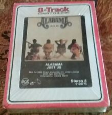 ALABAMA Just Us 1987 - SEALED Brand New - Music 8 TRACK Tape RECORD CLUB ONLY!