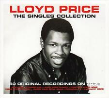 LLOYD PRICE - THE SINGLES COLLECTION - 60 ORIGINAL RECORDINGS  (NEW SEALED 3CD)