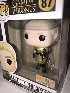 Funko Pop! Ser Brienne of Tarth #83 BoxLunch Exc. Game of Thrones gold metallic