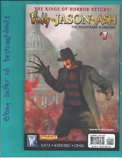 Jason vs Ash Nightmare Warriors #1 Freddy variant 2009 Wildstorm Dynamite Vf/Nm