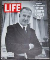 Life Magazine May 8, 1970 Spiro Agnew Knows Best on cover/Ian Anderson