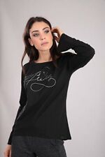 Freddy Black Long Sleeve Top 10/small