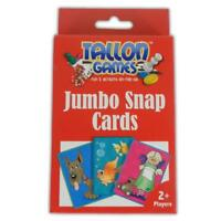 JUMBO PLAYING CARDS OR SNAP - FUN KIDS POKER GAMES ACTIVITY TOYS LEARN PARTY