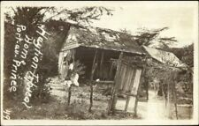 Haiti - Typical Native Home Port Au Prince c1910 Real Photo Postcard jrf