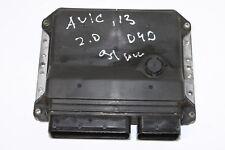#4363 Toyota Avensis T27 2014 2.0 D4D RHD ENGINE ECU 89661-05F20 / MB275900-4733