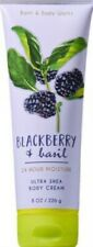 Bath & Body Works Blackberry & Basil Body Cream ~ 8 oz ~ Ships Free!!!