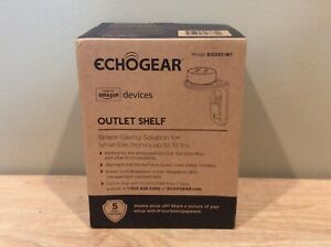 Echogear Made for Amazon Devices Outlet Shelf for Amazon Echo Devices - White