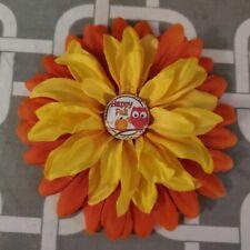 """New listing 4.5"""" Happy Fall Dog Collar Flower"""