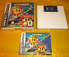 MS PAC_MAN MAZE MADNESS / PAC-MAN WORLD Game Boy Advance Gba ○○ COMPLETO