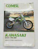 Kawasaki KX125, 1992-2000 by Clymer Publications Staff and Penton Staff...