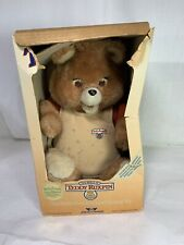 Vintage 84 85 Teddy Ruxpin World's First Animated Talking Toy Bear Read Listing
