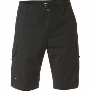 Fox Slambozo Mens Cargo Shorts - Black