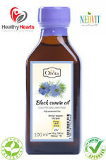 Black Seed / Black Cumin oil cold pressed, unrefined - 100 ML Glass Bottle