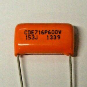 Orange Drop 716P 0.015 uF / 15 nF 153J 600V for Valve amp Guitar tone etc