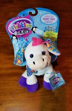 "Ganz Webkinz ROCKERZ COW 8"" Sealed Code, Unused Tag, BRAND NEW"