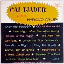 CAL TJADER: Plays Harold Arlen FANTASY Red Wax Mono Latin Jazz LP