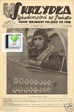 CD File 2x Skrzydla 1944 6-7 Wings Polish Air Force Normandy Skalski Stalag 3