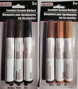 Tool Bench Hardware, Furniture Scratch Markers, Pack of 3