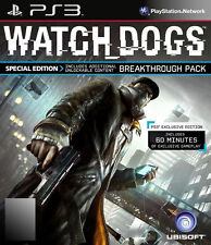 Watch Dogs -- ANZ Special Edition (Sony PlayStation 3, 2014)