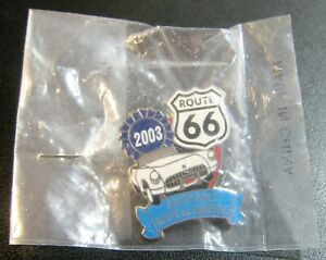 2003 Route 66 Stater Bros Lapel Pin