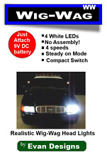 Wig Wag Headlights Alternating Flashing Circuit 4 LEDs!