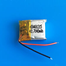 40mAh 3.7V Li-Po Polymer Battery for Headphone Mp3 Recorder Video Pen 401215