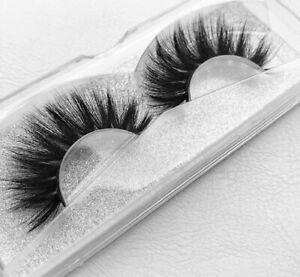 ❤ TOP QUALITY 100% Luxury 3D Mink Eyelashes STRIP LASHES FALSE/THICK/WISPY/LONG❤