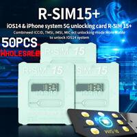 2020 R-SIM15+ Nano Unlock RSIM Card for iPhone 12 Pro XS MAX XR X 8 7 iOS14 Lot