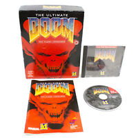 The Ultimate Doom Thy Flesh for MAC CD-ROM in Big Box by id Software, 1995