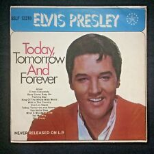 ELVIS PRESLEY Today Tomorrow And Forever Unusual Malaysia Singapore LP not EP