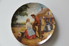 """Knowles """"Oh What A Beautiful Mornin"""" Oklahoma Series Plate W/ Box & Coa #13641H"""