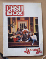 1991 CASHBOX MUSIC MAGAZINE FEATURING ALABAMA