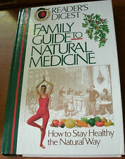 FAMILY GUIDE TO NATURAL MEDICINE by RD 1993 HC