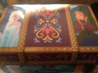 NEW Frozen Travel Trunk. Anna & Elsa. Dresses And Accessories. New. By. Jaks
