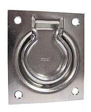 "Stanley 1215 S574-800 3"" Trap Door Ring Pull 3"" X 3 1/2"" 5 PCS BULK LOT"